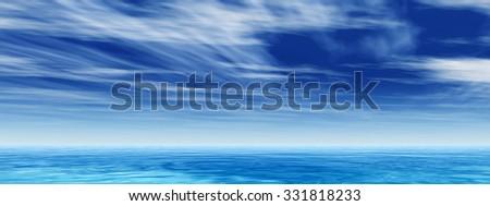 Ocean Water Background indian ocean half water shoot cloudy stock photo 285339314