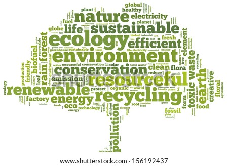 Conceptual Tag Cloud Containing Words Related Stock Illustration ...