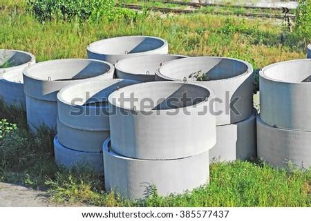 concrete tree circles