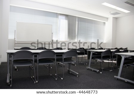 Conference room and whiteboard