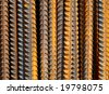 Construction iron detail pattern - stock photo