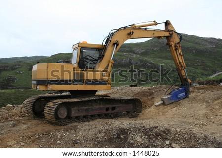 Loader Used Lift Log Truck Trailer Stock Photo 155830577