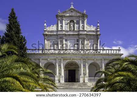 Convent of Santa Maria Scala Coeli, popularly called Cartuxa Convent, a religious building founded in December 8, 1587, located in the town of Evora, Alentejo, Portugal.