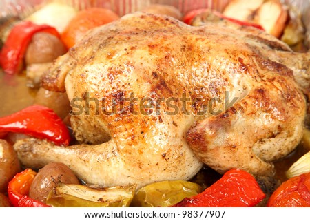Отваренное мясо курицы