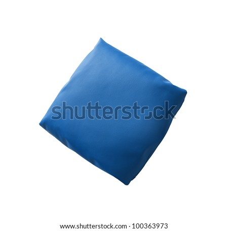 Couch cushions isolated against a white background