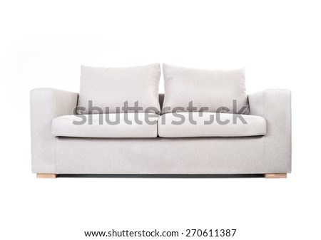 Couch isolated on white