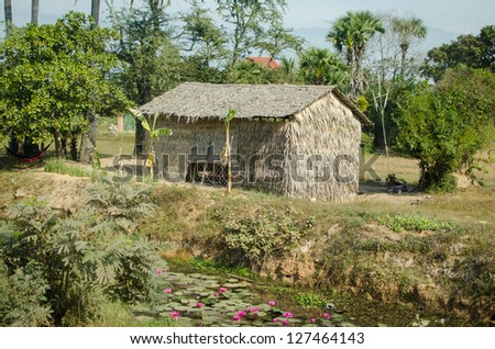 Country building in Cambodia