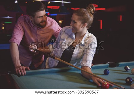 video clip stock fooe girls flirt with guys while standing night club