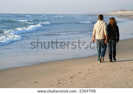 couple in the beach