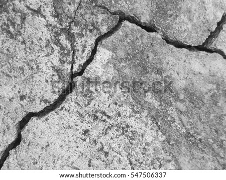 crack old floor concrete texture background