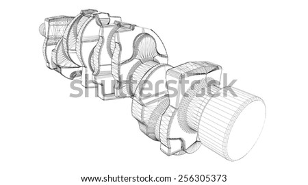 log cabin drawing stock vector 53018293