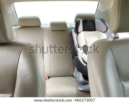 car interior gray car back seats stock photo 98850407 shutterstock. Black Bedroom Furniture Sets. Home Design Ideas