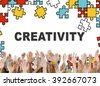 Creativity ideas Imagination Innovation Inspiration Concept - stock photo