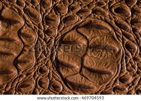 Crocodile leather textured background