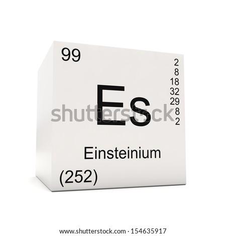 Einsteinium Symbol