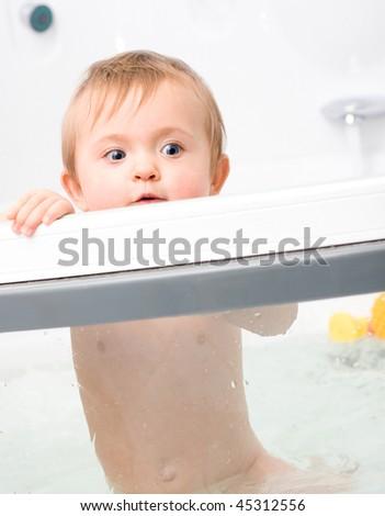 Sweet Little Baby Boy Stock Photo 128809972 Shutterstock