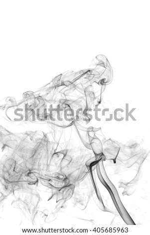 Black Smoke Abstract Background 264328124