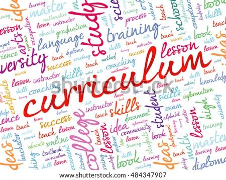 curriculum en word