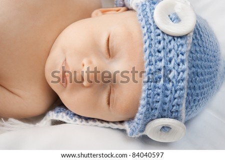 Cute baby sleeping.