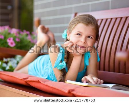 Baby Girl Waving Hand Standing Crib Stock Photo 84639496