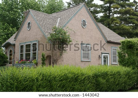 Cute Stucco House