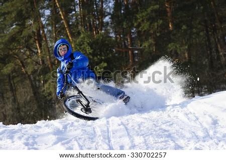 mountainbike snow winter extreme - photo #9