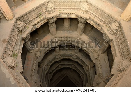 Dada Hari ni Vav stepwell is a Hindu water building in Ahmedabad town in the Indian state of Gujarat.