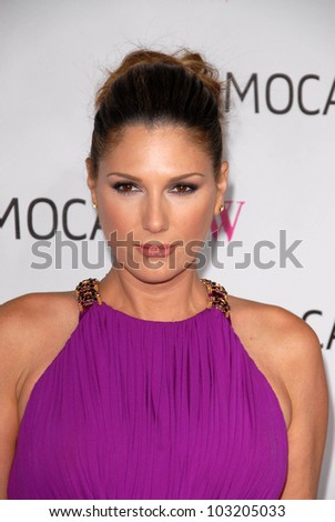 Daisy Fuentes at the MOCA New 30th Anniversary Gala, MOCA Grand Avenue, Los Angeles, CA. 11-14-09