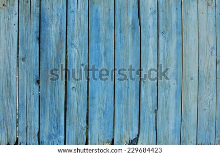 Dark blue wooden fence background