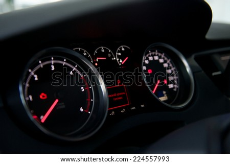 Dashboard Stock Photo Shutterstock - Car image sign of dashboardcar dashboard sign multifunction display stock photo royalty