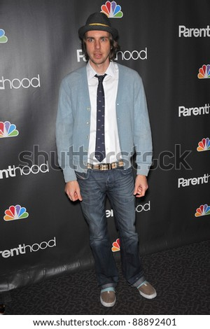 "Dax Shepard at the premiere for his new NBC TV series ""Parenthood"" at the Directors Guild of America. February 22, 2010  Los Angeles, CA Picture: Paul Smith / Featureflash"