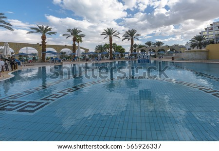 Hotel pool stock photo 489548458 shutterstock for Hotels in jerusalem with swimming pool