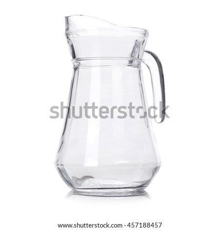 decanter isolated
