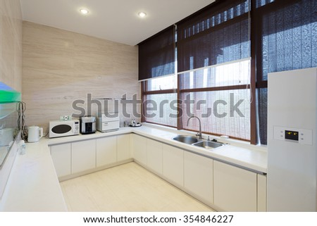 decoration of modern kitchen