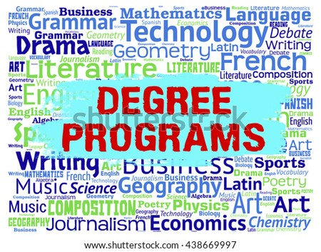 Degree Programs Showing Courses Master's And Education