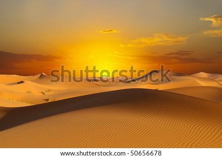 desert sunset death - photo #26