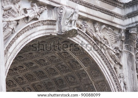 Ancient Classical Buildings One Moscow Streets Stock Photo ...