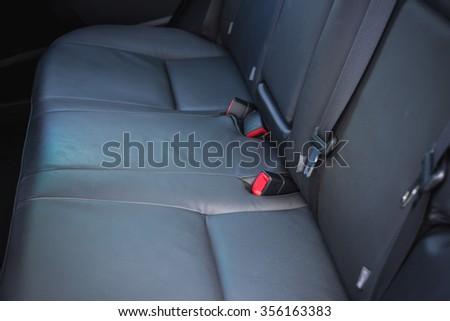 car interior back seats sunlight flaring stock photo 339420923 shutterstock. Black Bedroom Furniture Sets. Home Design Ideas