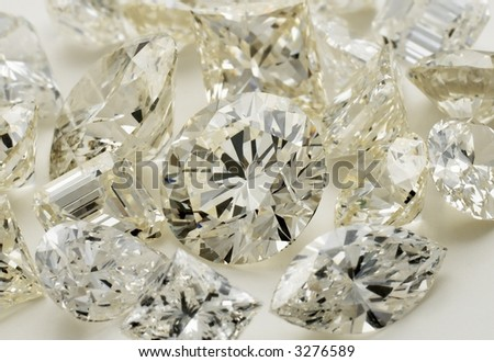 Diamonds- Many different shapes