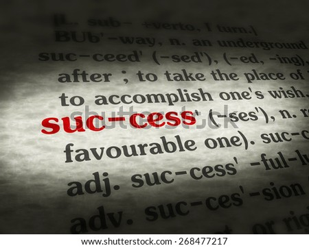 extended definition of the word success Let me say that again: a definition essay uses an extended example a definition  essay is typically based on a single word or concept, so don't chose an object   does success mean that he needs to make $100,000 or more.