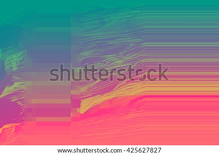 digital glitch background