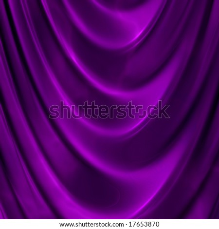 Digital Image Texture of Curtains