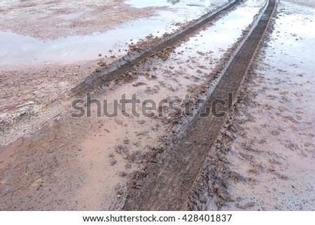 Seashore sand beach stock photo 160224830 shutterstock for Dirty foot mud ranch