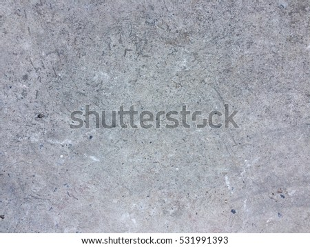 Dirty rough cement floor texture grungy background