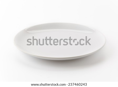 dish isolated on white background