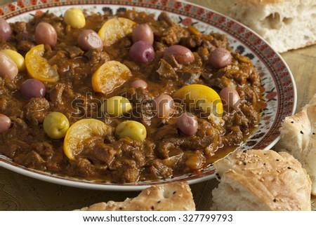 Fresh white oxalis tuberosa stock photo 96286643 for Authentic moroccan cuisine