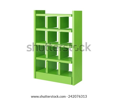 display with shelves for products 3d