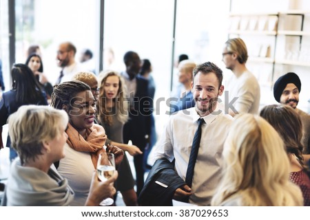 Diversity Group of People Meet up Party Concept