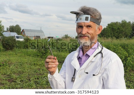 Doctor  in rural areas before work