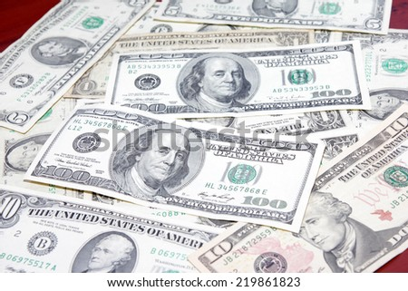 dollar as symbol credit money system